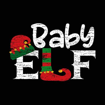 Baby Elf Gift Family Suitable for Christmas Funny T-Shirt by MrTStyle