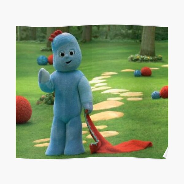 In the Night Garden Iggle Piggle Poster