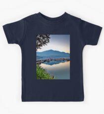 a desolate Taiwan landscape Kids Clothes