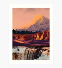 Landscape Collage #68 Art Print