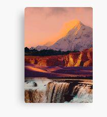 Landschafts-Collage # 68 Leinwanddruck