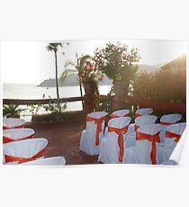Ocean wedding Poster