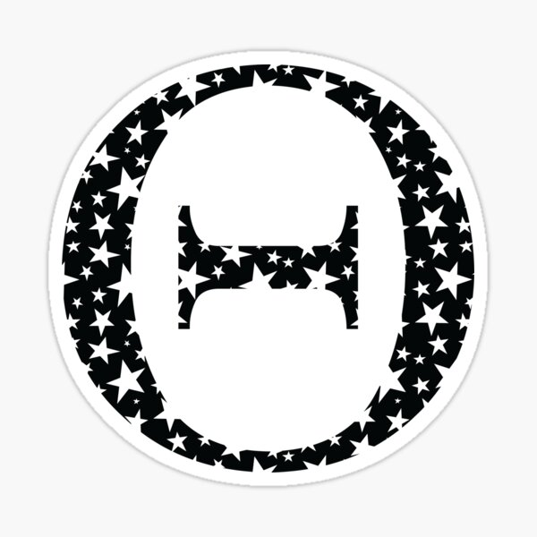 Theta Stars Sticker
