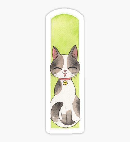 Chat heureux maneki Sticker