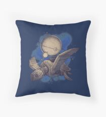 Globe Transporter Throw Pillow