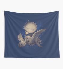 Globe Transporter Wall Tapestry
