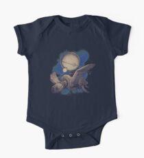 Globe Transporter Short Sleeve Baby One-Piece