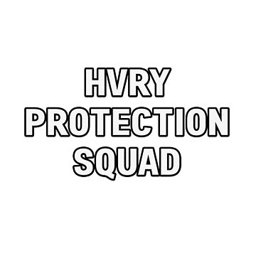 HVRY Protection Squad by amandamedeiros