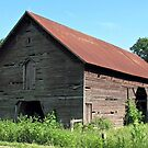 """""""A Simple and Old Timey Barn""""... prints and products by © Bob Hall"""