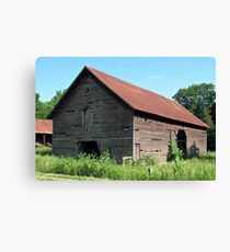 """""""A Simple and Old Timey Barn""""... prints and products Canvas Print"""