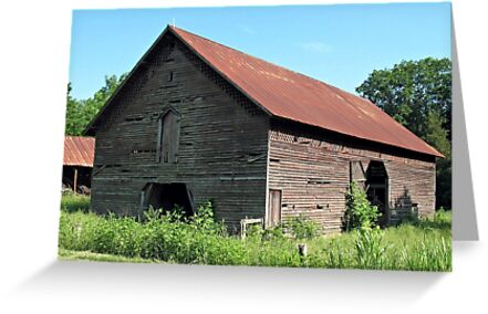 """""""A Simple and Old Timey Barn""""... prints and products by Bob Hall©"""