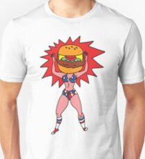 Hamburger Head Unisex T-Shirt