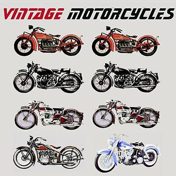 CLASSIC MOTORCYCLES by BulganLumini