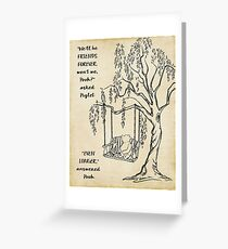 Winnie the Pooh - Friends Forever Greeting Card