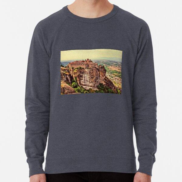 Greece. Meteora. The Holy Monastery of St. Stephen. Lightweight Sweatshirt