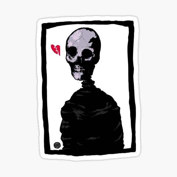 Dedded (frame) Sticker