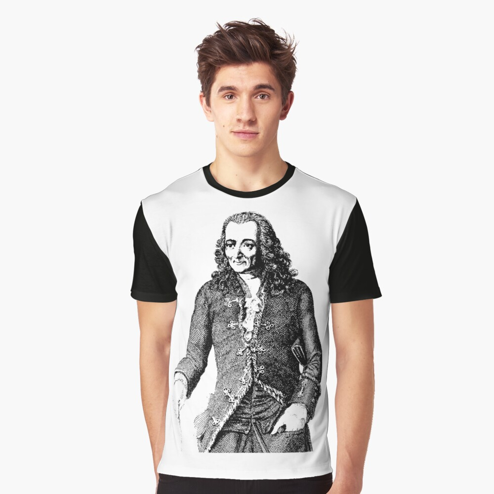 VOLTAIRE 2 Graphic T-Shirt Front