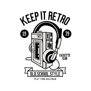 Retro Walkman by hypnotzd