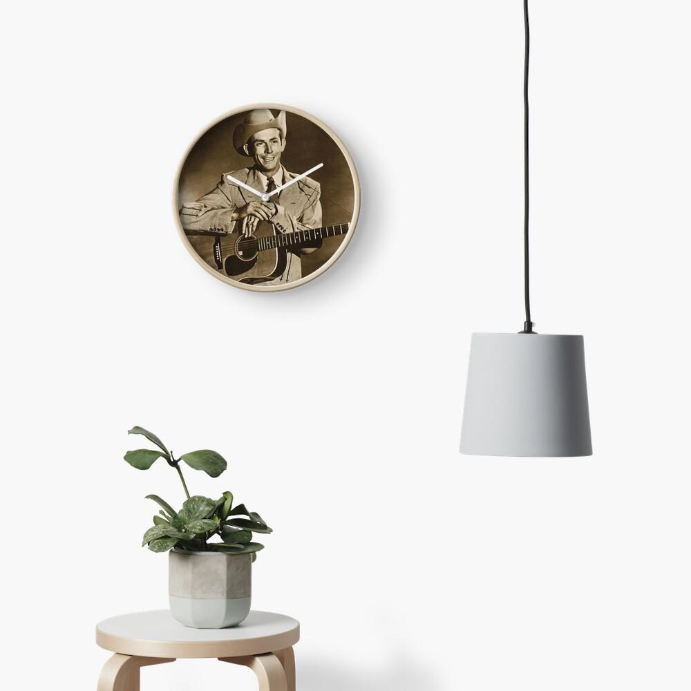 Hank Williams Clock