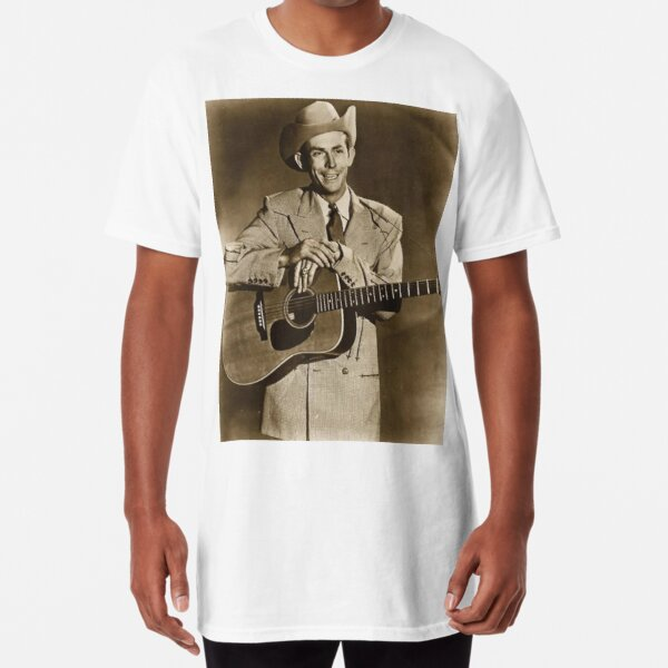 Hank Williams Long T-Shirt