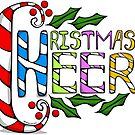 Christmas Cheer lettering by elledeegee