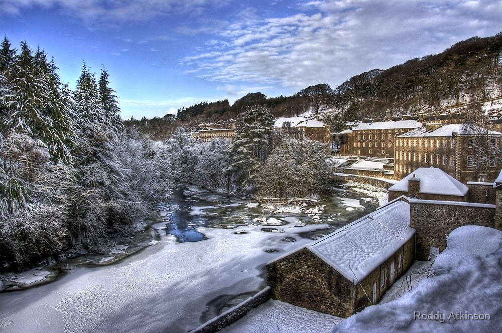 New Lanark by Roddy Atkinson