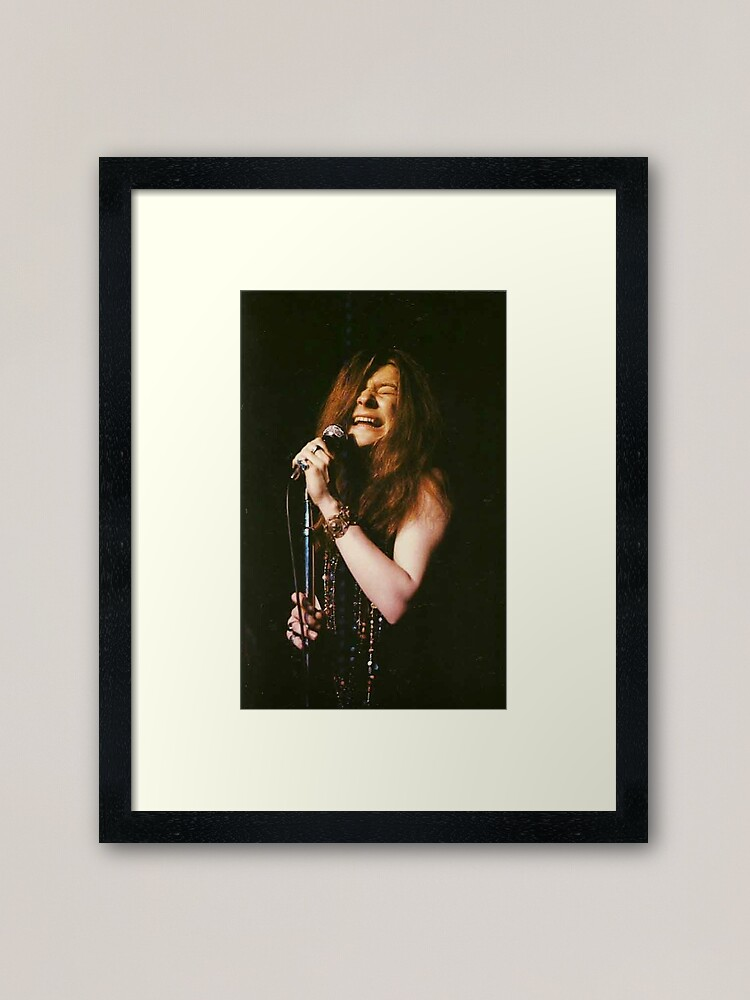 Alternate view of Janis Joplin  Framed Art Print
