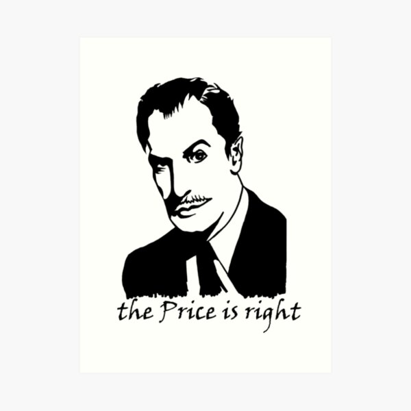 The Price is Right, vertical Art Print