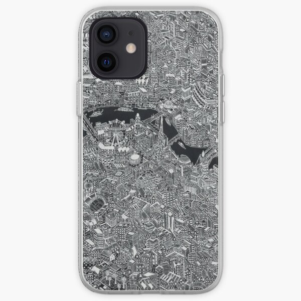London map iPhone Soft Case