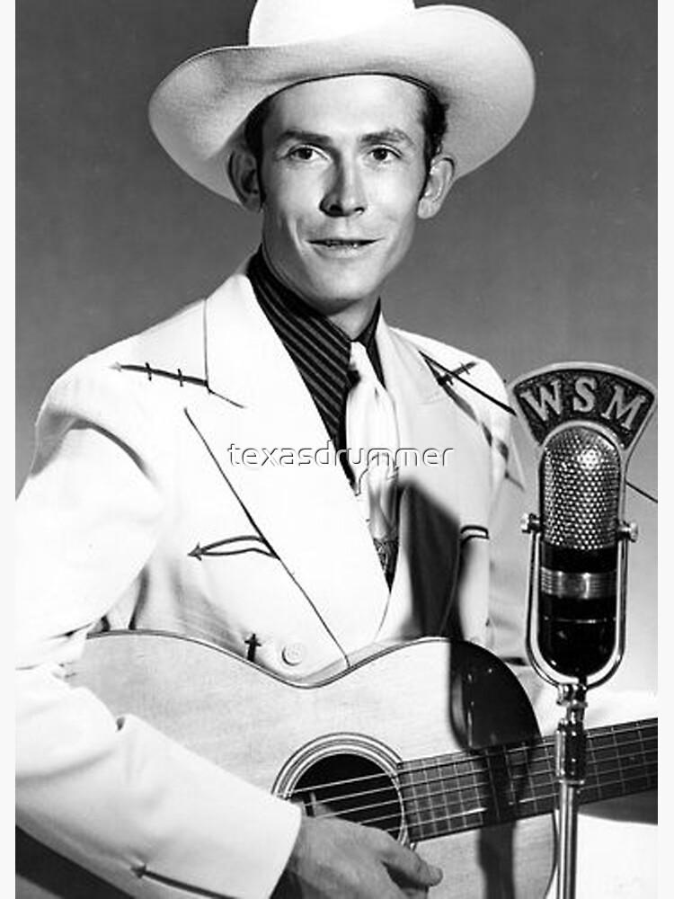 Hank Williams by texasdrummer