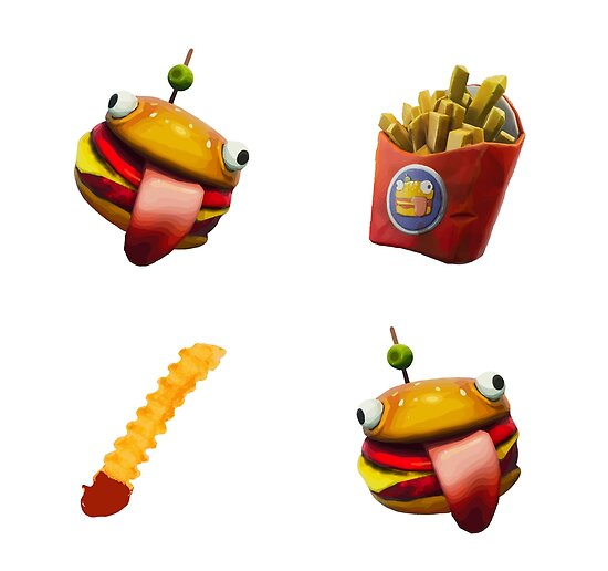 Fortnite Durr Burger Onesie Posters By Lowkey Fortnite Tees Redbubble