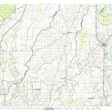 USGS TOPO Map Louisiana LA Bastrop 335156 1982 100000 by wetdryvac