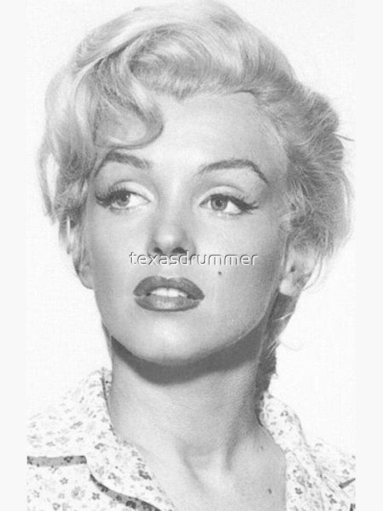 Marilyn Monroe by texasdrummer
