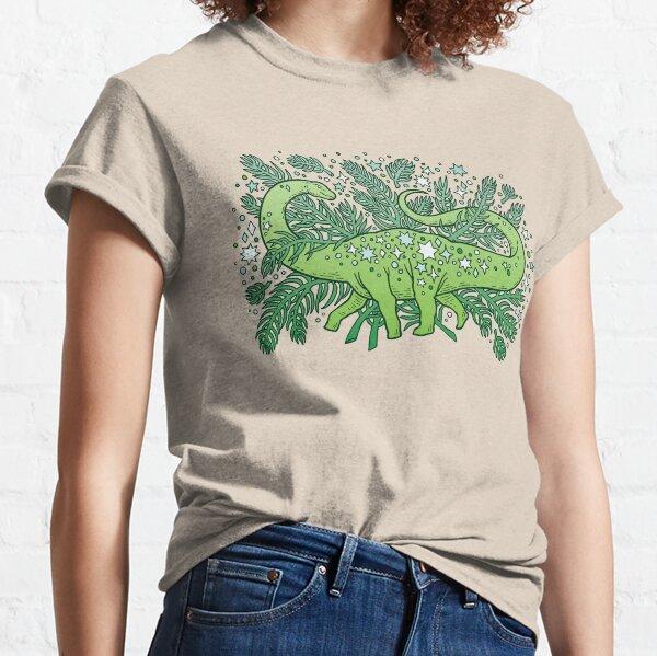 Winter Solstice Sauropod | Evergreens Palette Classic T-Shirt
