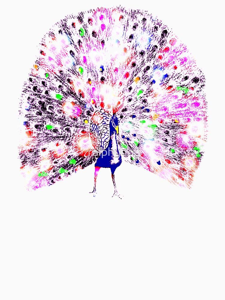 technicolor peacock by ralphyboy