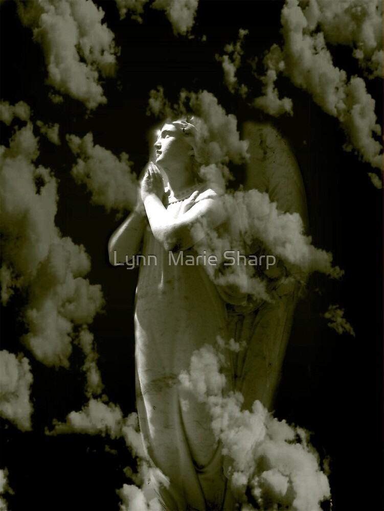Light In The Darkness Angel by Marie Sharp