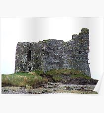 Ballinskelligs Castle, Kerry, Ireland Poster