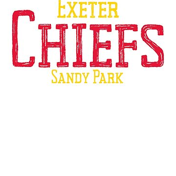 Exeter Chiefs Rugby Shirt Fans Jersey Gift Top by thehadgaddad