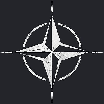 NATO OTAN Flag Symbol by quark