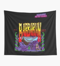 Remember Retro games Barbarian Wall Tapestry