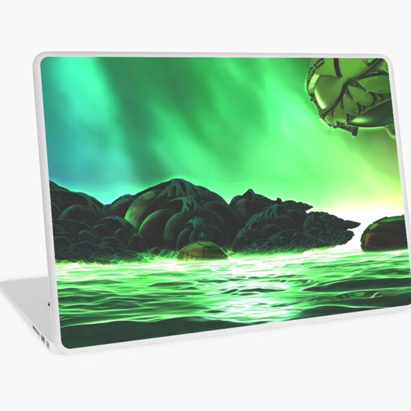 At The Shores Of Khabuliah by Spaced Painter Laptop Skin