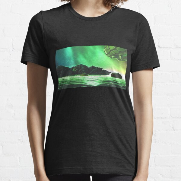 At The Shores Of Khabuliah by Spaced Painter Essential T-Shirt