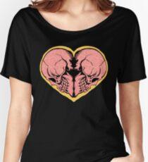 Valentines Day of the Dead Women's Relaxed Fit T-Shirt
