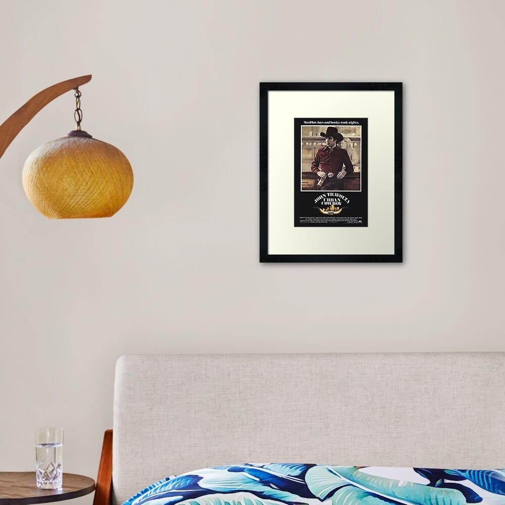 Urban Cowboy Framed Art Print