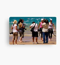 Winners are Grinners - Lorne Pier to Pub Canvas Print