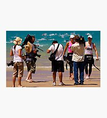 Winners are Grinners - Lorne Pier to Pub Photographic Print