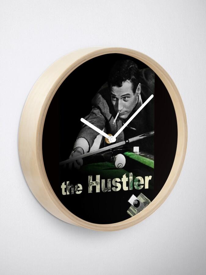 Alternate view of The Hustler Clock