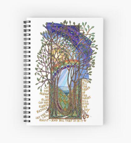 Sing for Joy - Psalm 86 Spiral Notebook
