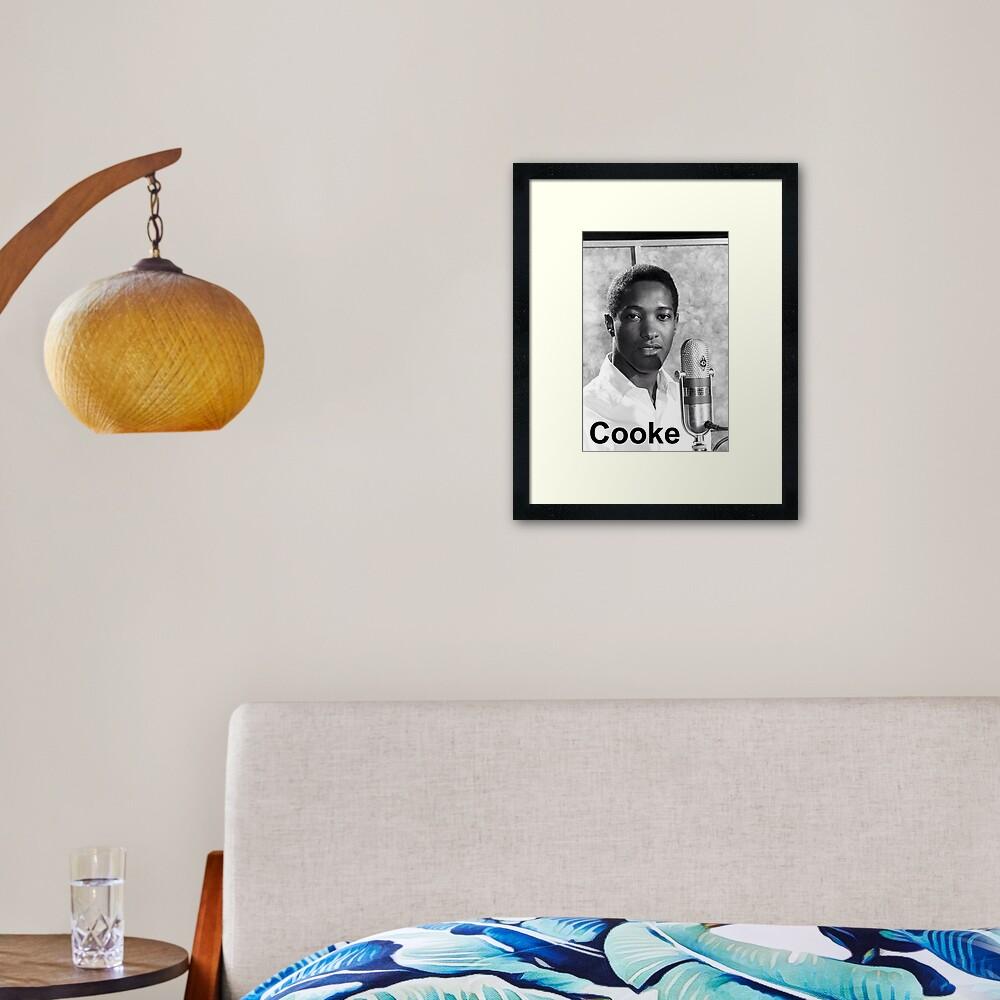 Sam Cooke Framed Art Print