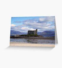 Ballinskelligs Castle -  Ballinskelligs, Kerry, Ireland. Greeting Card
